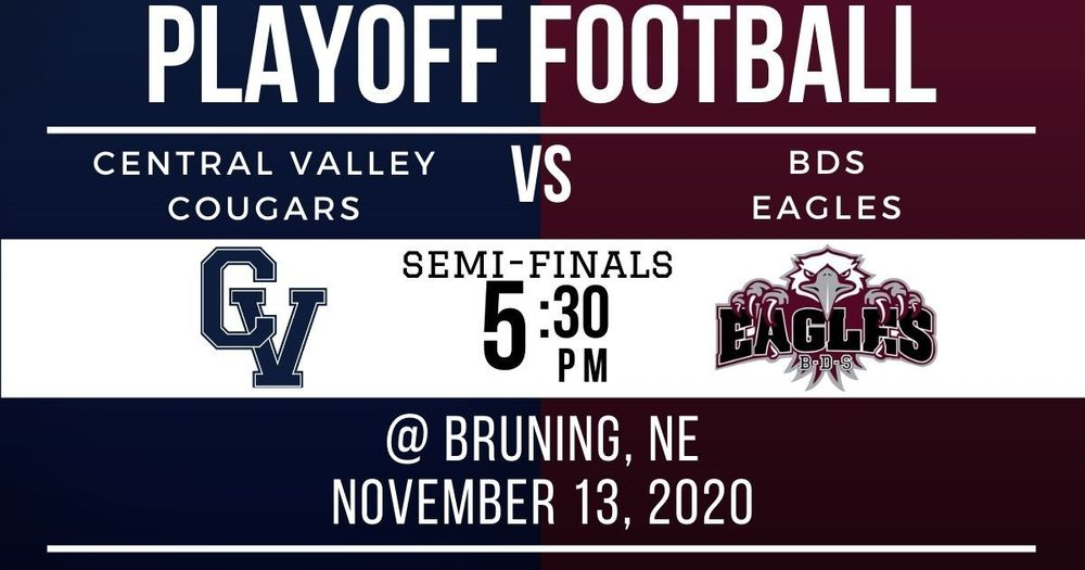 Semi-Final Football This Friday