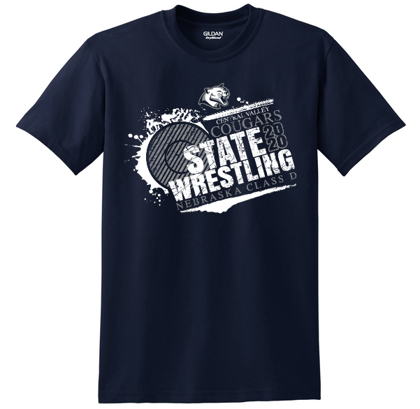 State Wrestling Apparel Available