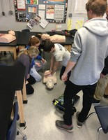 Central Valley Students Learn Life-Saving CPR