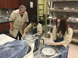 Central Valley Art Teacher Helps Students Make Pottery And Future Memories