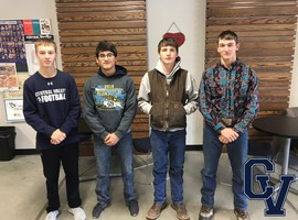 Cougar Wrestlers Off To State!