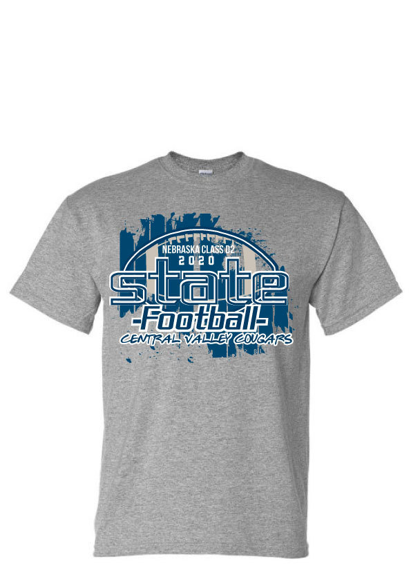 State Football Apparel