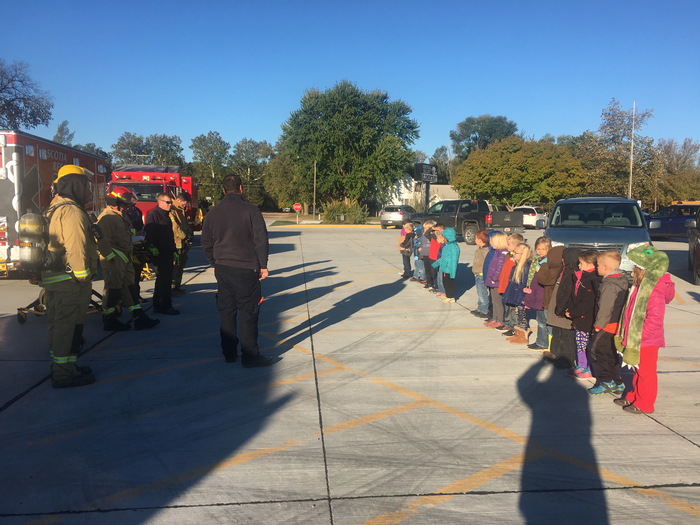 Scotia Fire & Rescue visits Central Valley