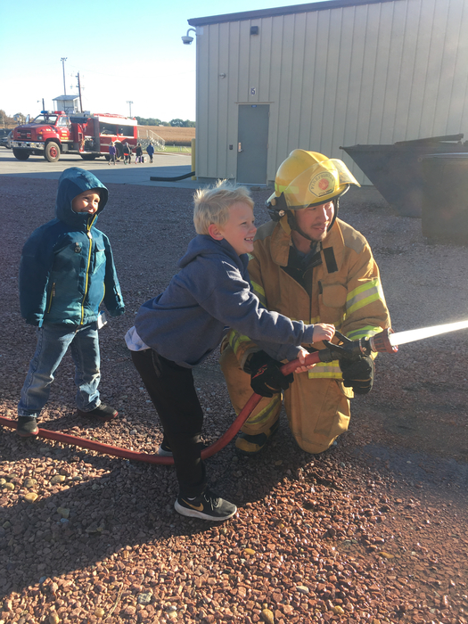 Scotia Fire visits CV Elementary