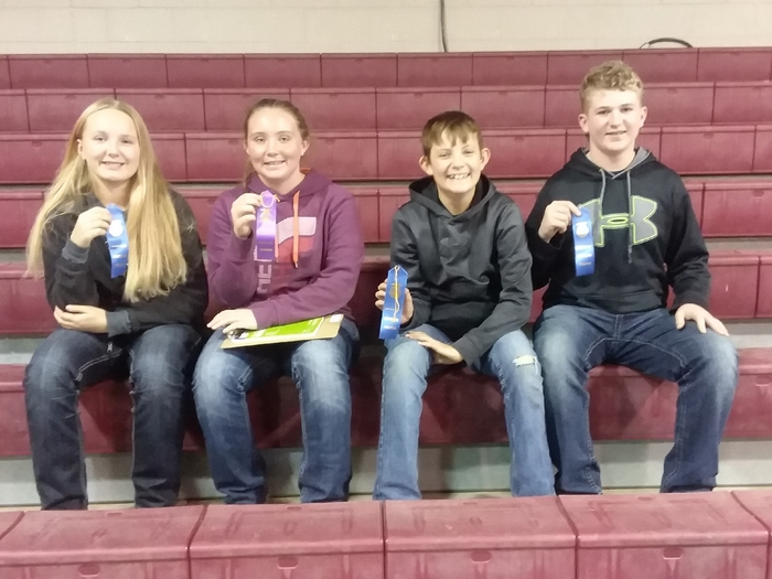 4th place Junior High Team