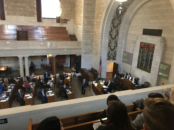 Floor debate and vote on LB 399