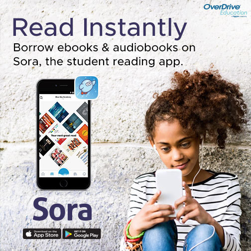 Sora, Online Reading App through Overdrive