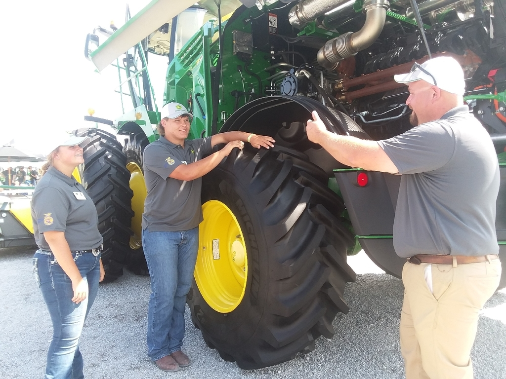working with the John Deere mentor