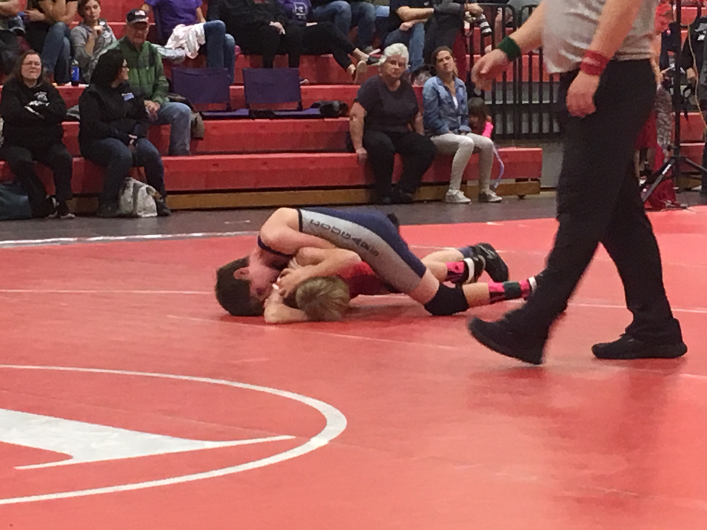 Cannon going for the pin!